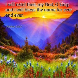 Psalm 145 1