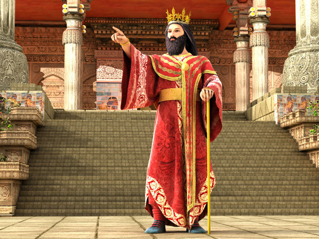 Bilderesultat for king xerxes in the bible