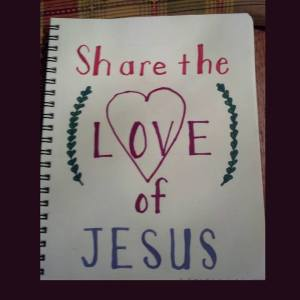 Bible Journaling Share the Love of Jesus