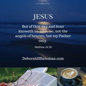 Matthew 24 36