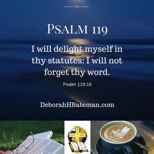 Psalm 119 16