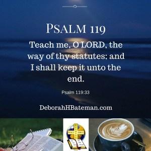 Psalm 119 33