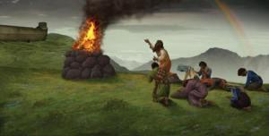 Genesis 8 Sacrafice-Noah