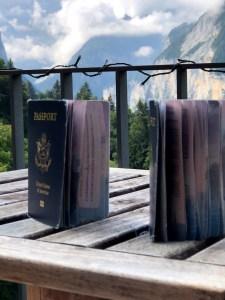 Laundered passports
