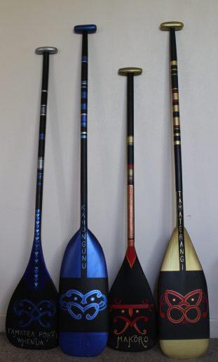 Waka ama paddles
