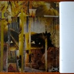 From Tiger To Prayer inside book cover yellow collage