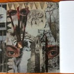 From Tiger To Prayer inside book cover gray collage