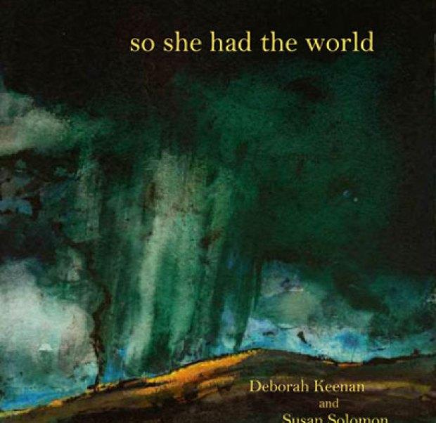 Deborah Keenan, poet, & Susan Soloman, painter.