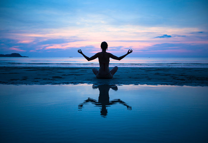 Blue-Meditation