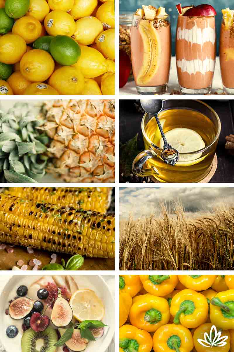 Solar Plexus Chakra Foods for Healing and Health