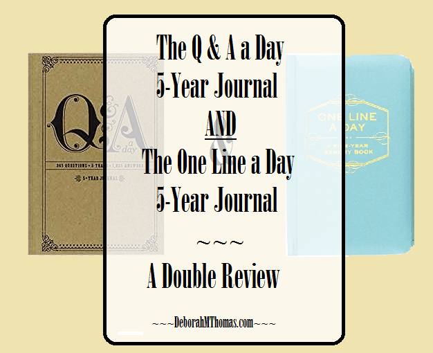 The Q & A a Day 5-Year Journal and The One Line a Day 5-Year Journal [A Double Review]