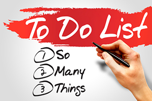 To Do List, image from Shutterstock