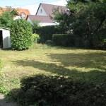 Garten fertig