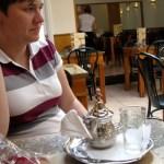 Jess + her tea