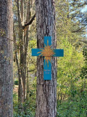 Cross on the Walking Path