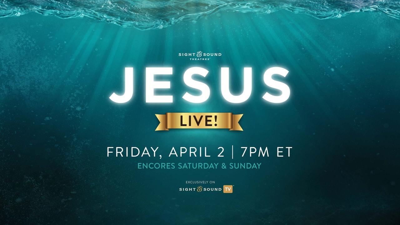 Jesus Live!