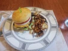 Boca Burger & Cauliflower Fries