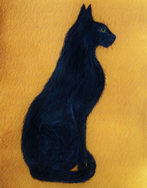 Patience - The Black Cat - Deborah Sheehy