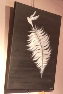 Feather for our wings Hullabaloo
