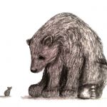 bear and the mouse drawing