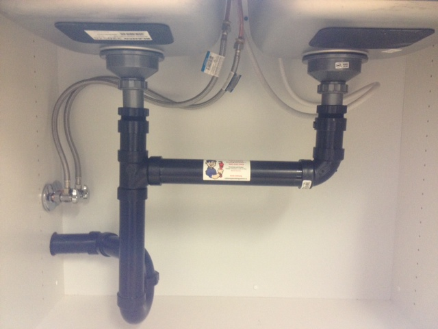 drains use abs rather than pvc or