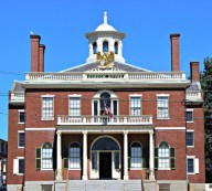 The Custom House, where Nathaniel Hawthorne had a day job.