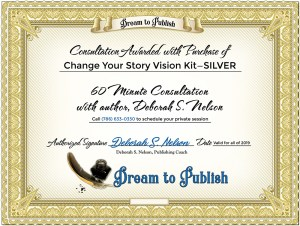 Change Your Story Vision Kit—SILVER Certificate
