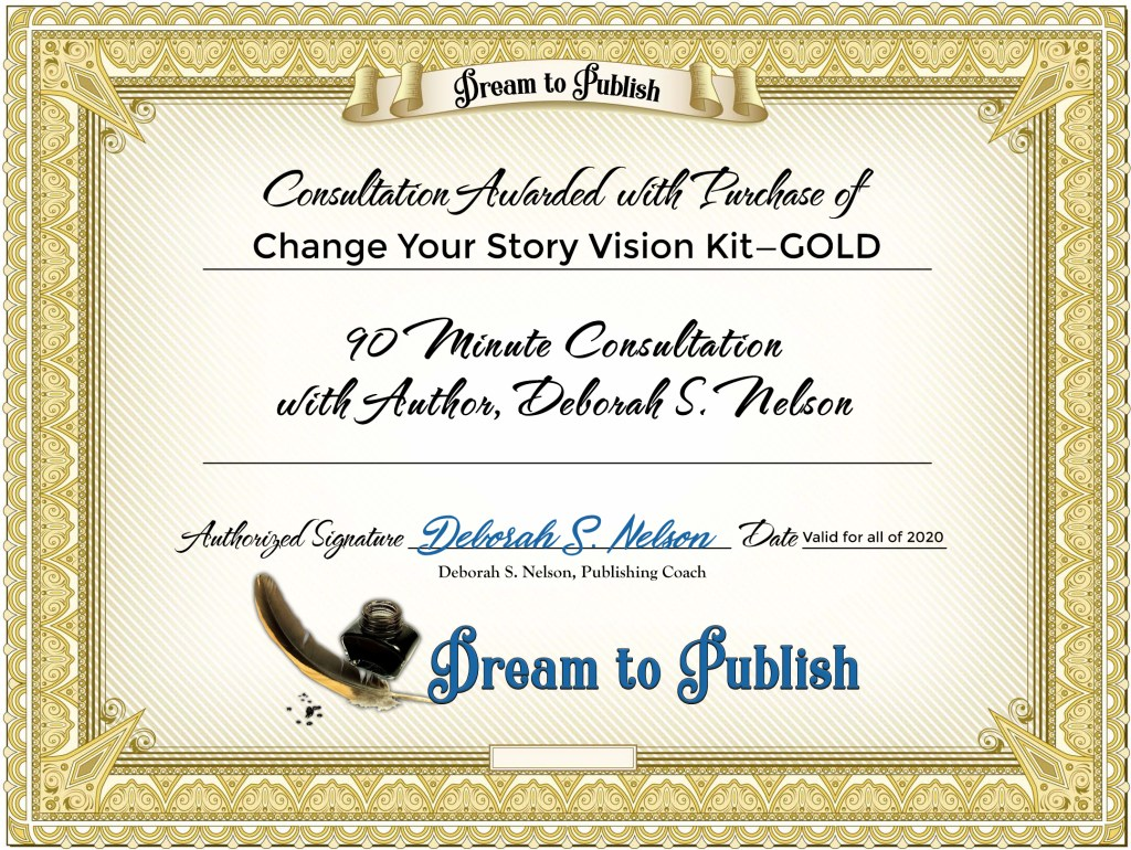 Change Your Story Vision Kit—GOLD Certificate