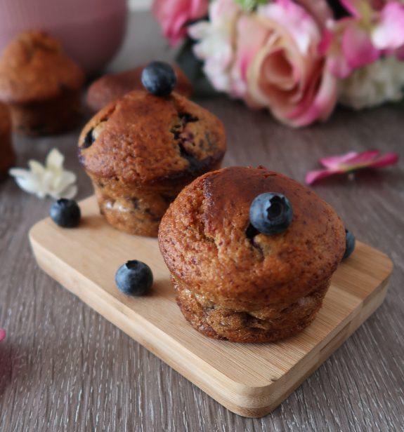 Muffins à la Myrtilles