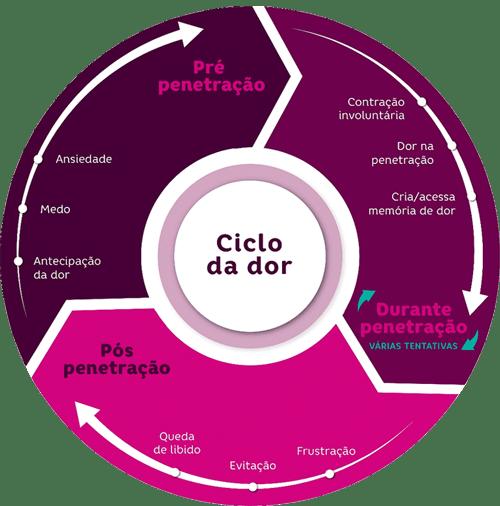Gráfico de Ciclo de Dor