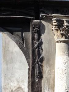 Aitre St-Maclou in Rouen, France