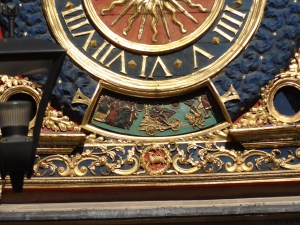 Gros Horloge in Rouen, France