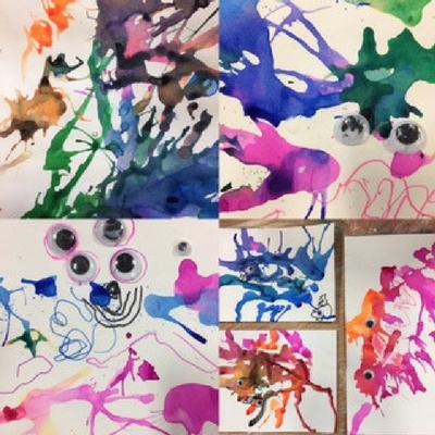 ink monsters - gallery