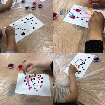 ink monsters hands - gallery