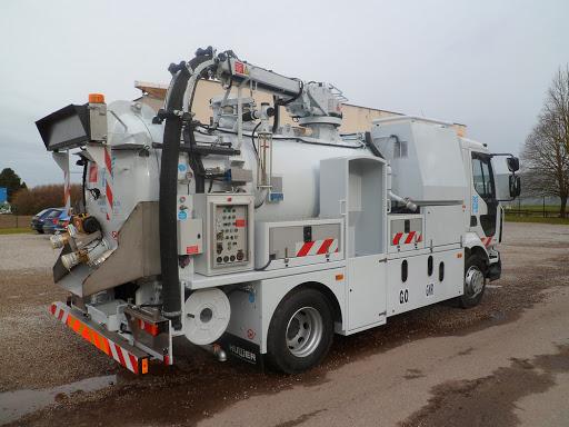 débouchage camion hydrocureur