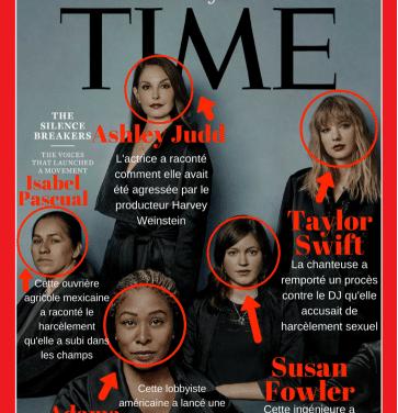 La déferlante #MeToo contre le harcèlement sexuel désignée « personnalité de l'année 2017 » par le Time magazine