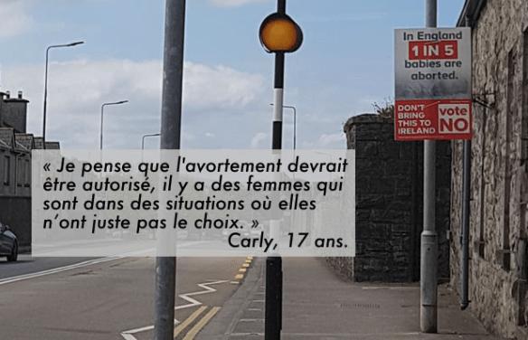 Le débat sur l'IVG vu par des ados irlandaises, lassées du conservatisme ambiant