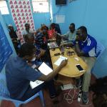 Des journalistes congolais.es formé.e.s à la vidéo avec mobile par Samsa.fr