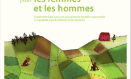 Faire progresser l'équité de genre dans les processus, institutions et activités à la base de la gouvernance foncière.