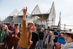 Kijkdag voor de toekomstige bewoners van Ecowijk Houten.