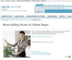 AOL Real Estate Features Debra Gould