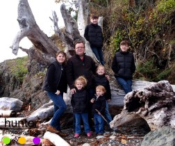 family photography pender island bc