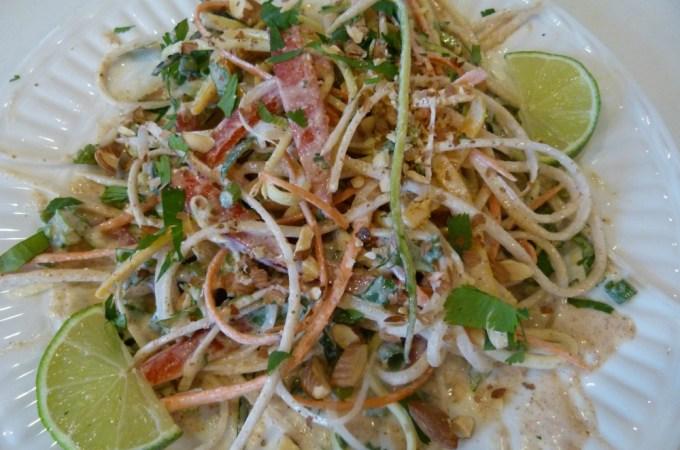 Gluten Free & Healthy Veggie Pad Thai