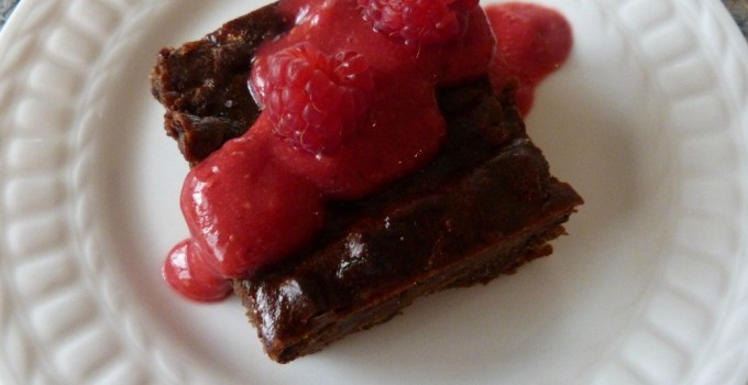 Super Moist Passover Brownies-no refined oil or sugar
