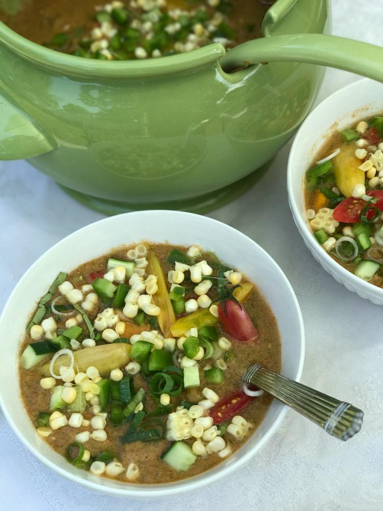Simple Gazpacho. Vegan and Glutenfree