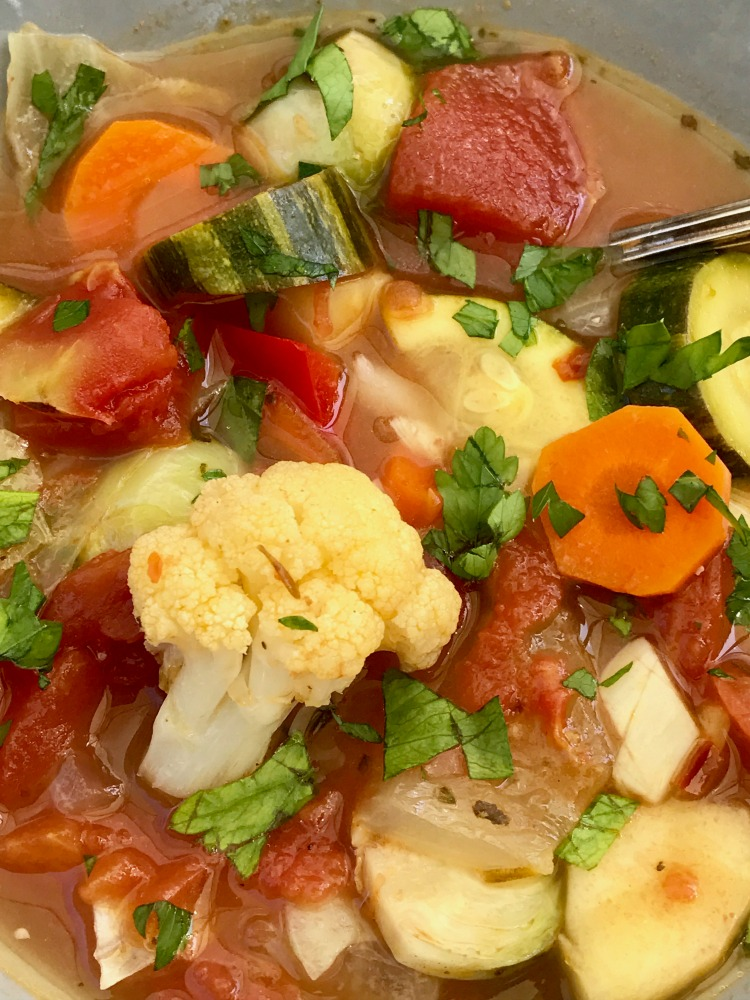 Healthy Vegetable Soup. Simple to make.
