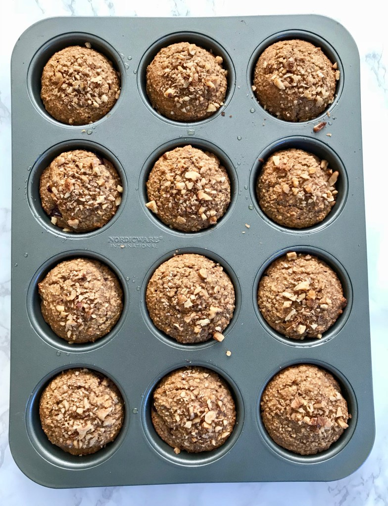 Healthy Jam Filled Muffins