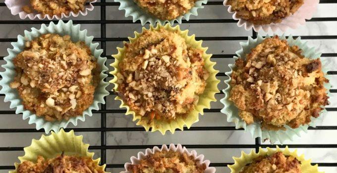 Gluten-free Carrot Muffins