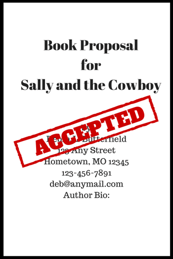 Book Proposal Accepted find a publisher