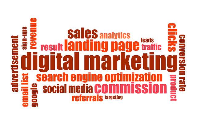 digital marketing, using keywords